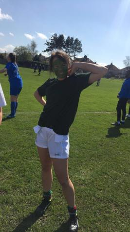 Hi guys I'm Leah and I'm the networking sec so basically get us cool sponsors and sort alumni weekend. I play on the wing in football and study sociology - well sometimes. Can't wait to meet you all next year either on the pitch or drunk in warehouse over and out.